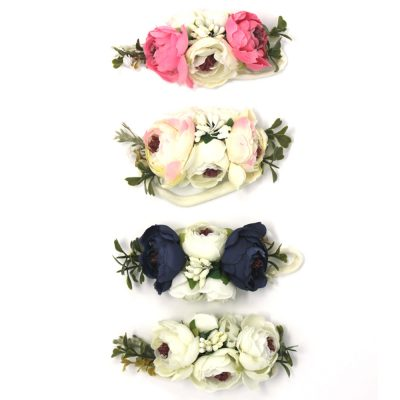 girls floral flower headband