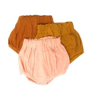 cotton boy girl bubble shorts