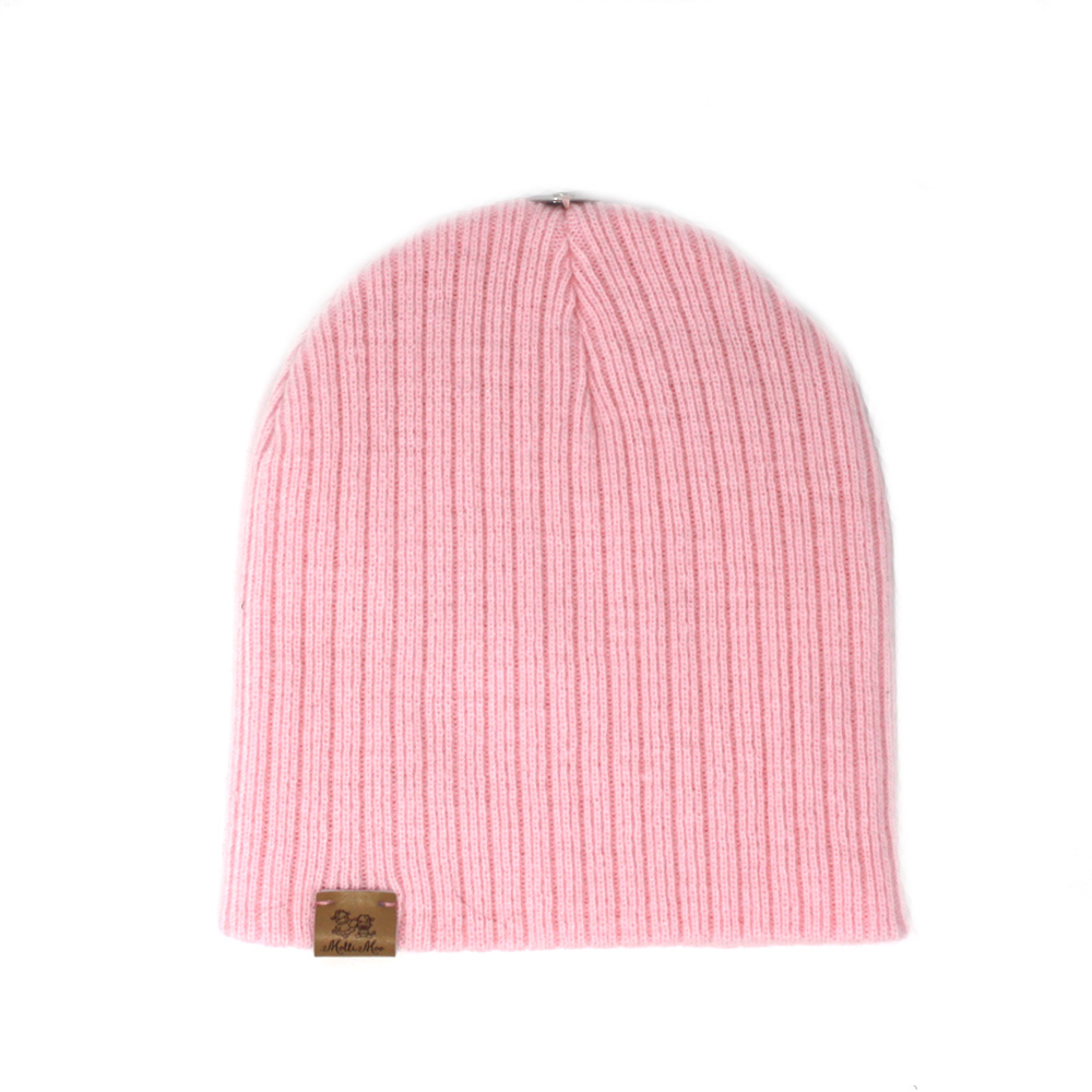 Create Your Own Winter Pompom Beanie Hat – Pink