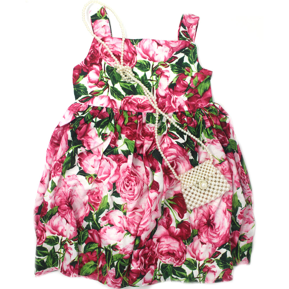 Beautiful Girls Rose Dress